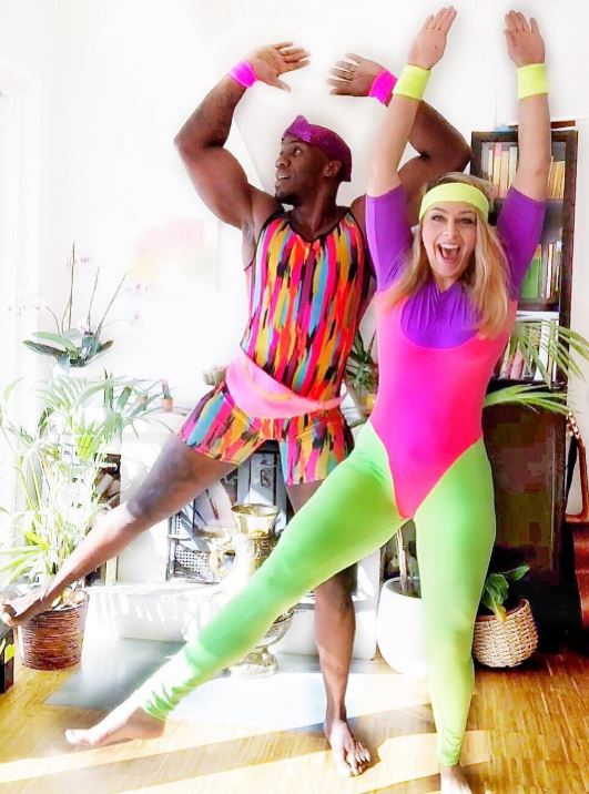 aerobics instructor couples costume - 50 Best Couples Halloween Costume Ideas for 2019