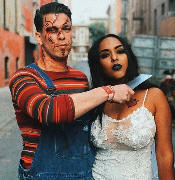 18 Wickedly Cool Halloween Costume Ideas For Couples Of Life And Lisa
