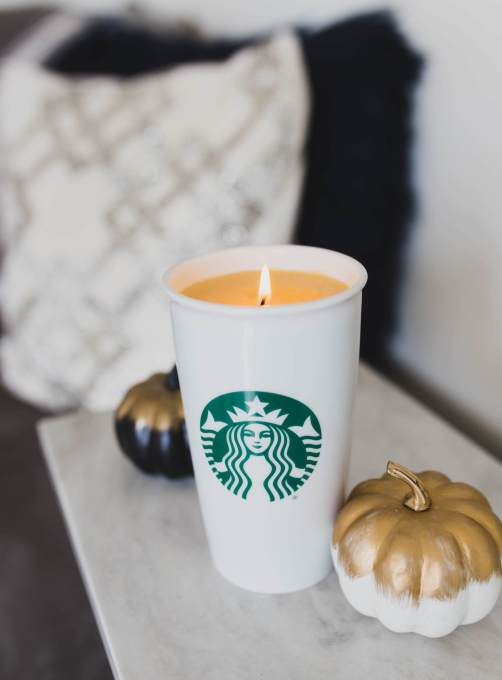 diy fall scented starbucks candle - 30+ Fall Craft Ideas to Make and Sell for Extra Money