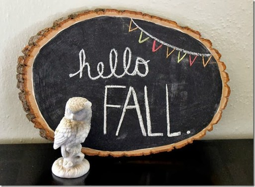 diy fall wood slice decor - 30+ Fall Craft Ideas to Make and Sell for Extra Money