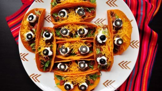 halloween tacos - 15 Most Brilliant Halloween Party Food Ideas