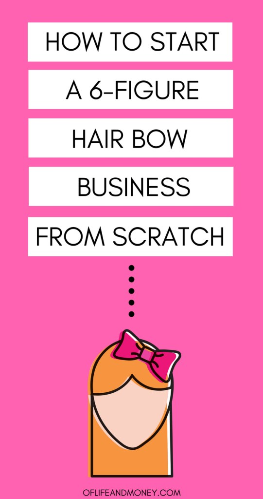 Learn how this mom created a 6-figure hair bow business from scratch!