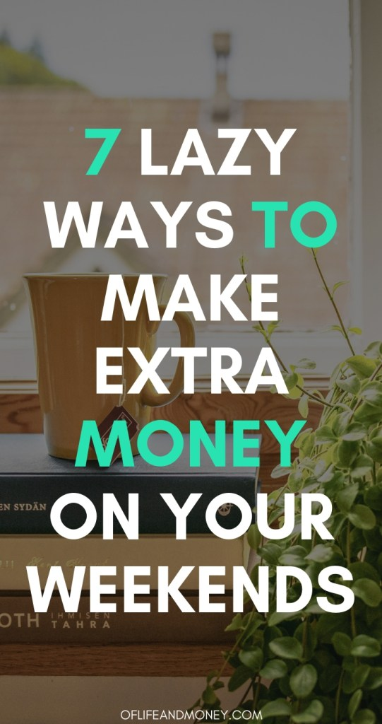 These ideas to make money on the weekends are genius! I cant wait to try #6!