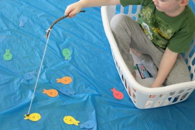 Get a laundry basket and a...| 10 Indoor Activities for Toddlers