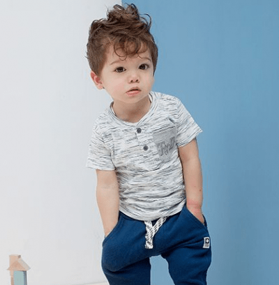 Cute hair cut for curly hair toddlers