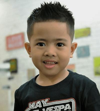 Loving his hair cut! So adorable ❤