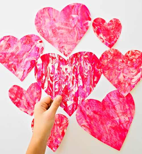 Toddler Crafts for Valentine's Day