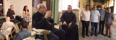 The General minister visits the brothers in Cuba