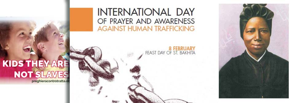 International Day of prayer and awareness against human traffiking
