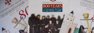 Pope Francis marks 800 years of Franciscans in Holy Land