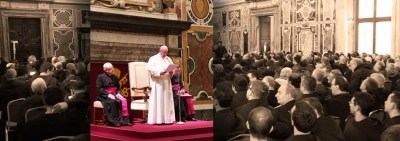 Friars' Address to Pope Francis in Audience