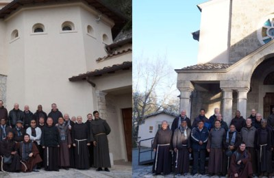 In the footsteps of St. Francis – Provincial Ministers in Greccio and Fonte Colombo