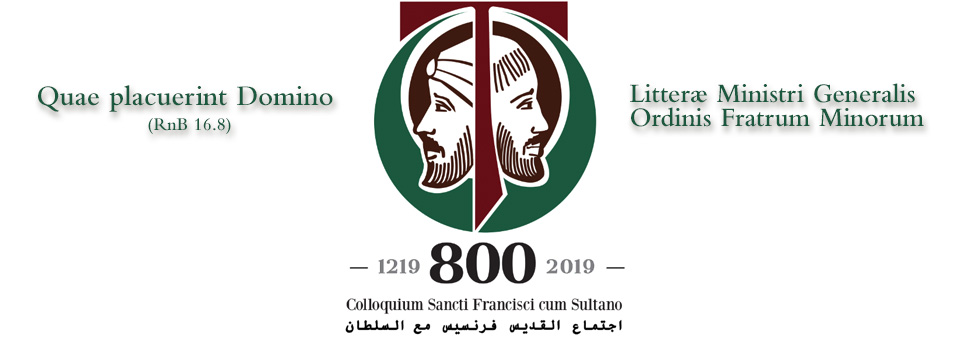 Letter of the General Minister on the 800th Anniversary of