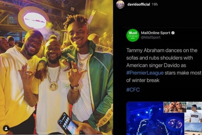 DMW Boss Davido, Blasts UK's Daily Mail For Describing Him As This (Read Details) 2
