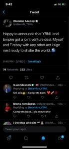 INTERNATIONAL BADDO!! Rapper, Olamide Signs Record Deal With Empire Distribution (Photos) 2