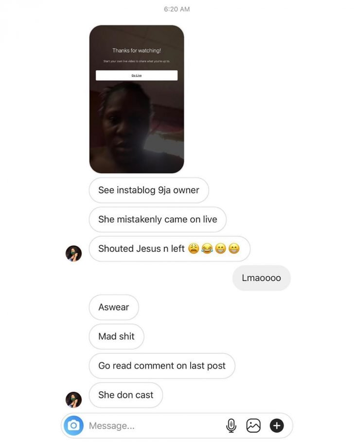 AT LAST!! See The Face Of Instablog Owner As She Mistakenly Reveal Herself (PHOTO) 10