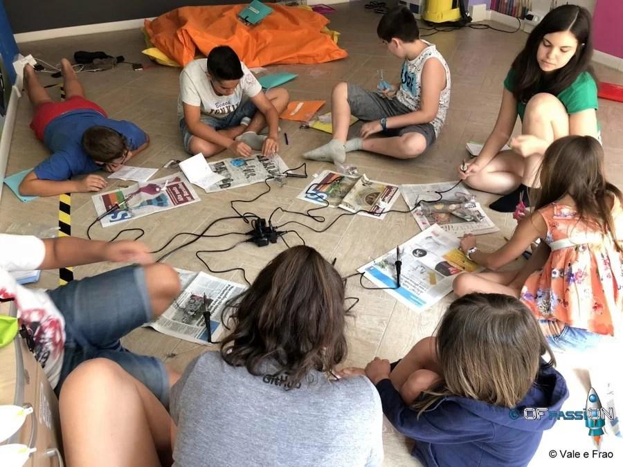bambini e ragzzi centri estivi estate tech e non solo