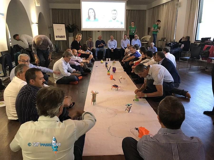team working valeria cagnina francesco baldassarre manager