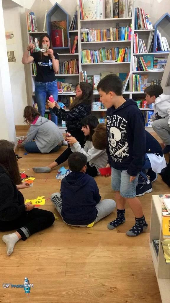 Attività di robotica educativa a Varazze Ofpassion
