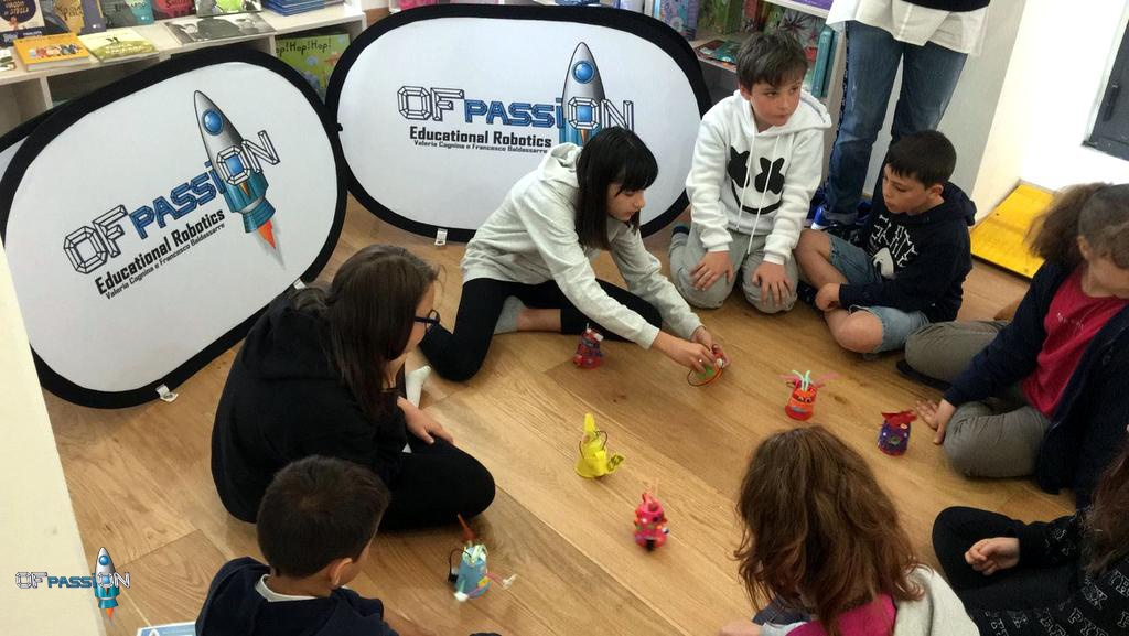Dreamers e i loro robottini funzionanti ofpassion robotica educativa