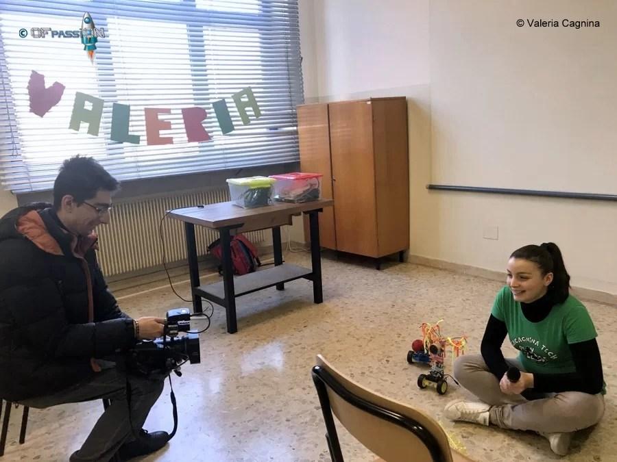intervista e video dei laboratori a scuola di valeria cagnina ofpassion