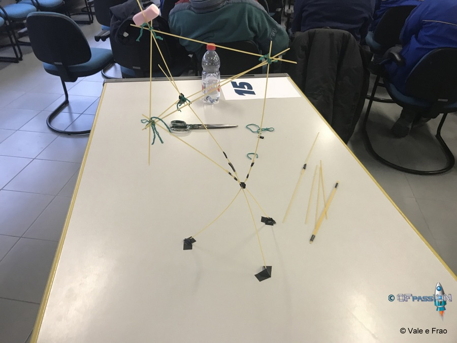 torre di spaghetti nastro adesivo e marshmallows attività marshmallows challenge dipendenti michelin alessandria opfassion