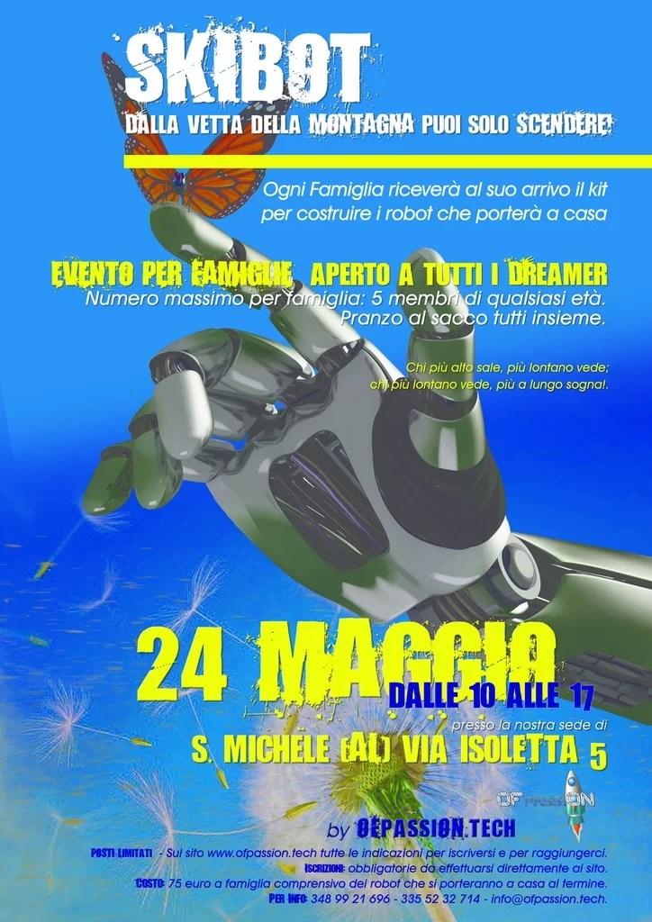 skibot laboratorio robotica per famiglie valeria cagnina francesco baldassarre