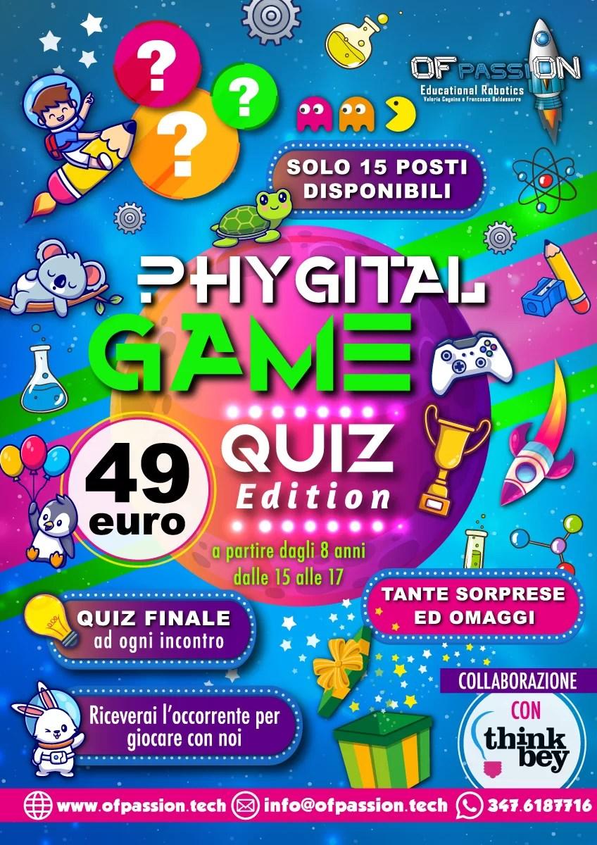 phygital game quiz edition thinkbey