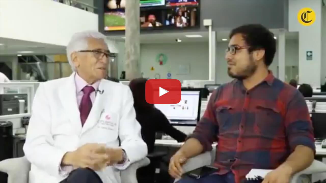 Entrevista al Dr. Carlos Siverio Zaffirio en El Comercio