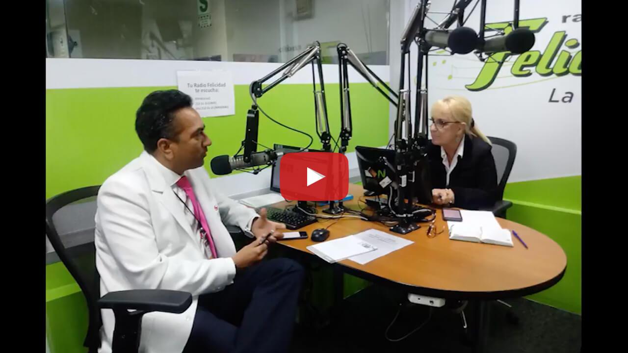 Hipertensión arterial en Radio Felicidad