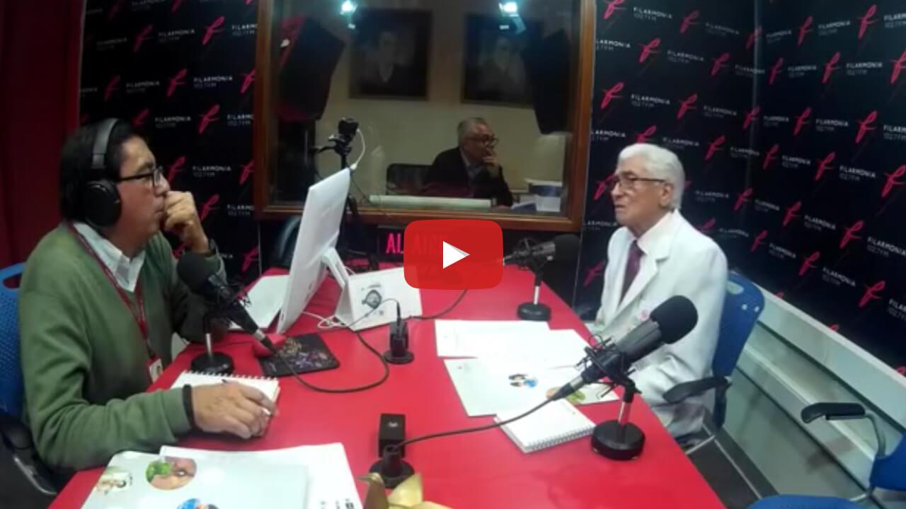 Entrevista al Dr Siverio Zaffirio en Radio Filarmonía