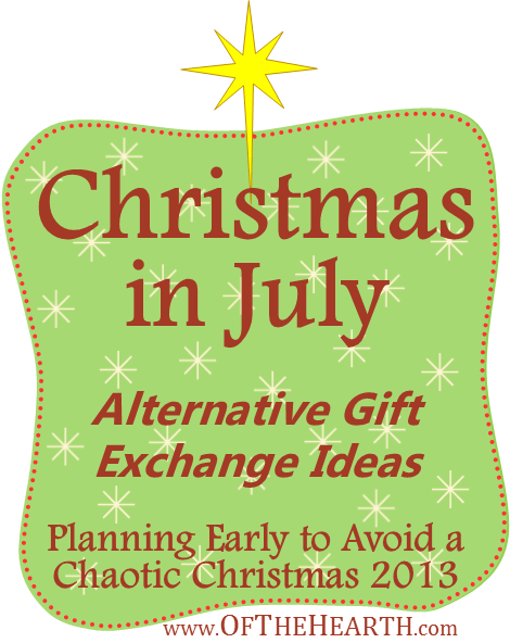 Christmas Gift Exchange Ideas.Christmas In July Alternative Gift Exchange Ideas