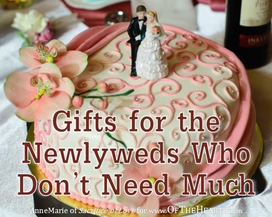 Items Newlyweds Would Need For Their House