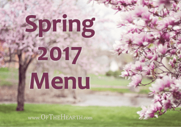 What's for dinner in my house during spring 2017? Menu items range from fun cheeseburger sliders to sweet and savory honey garlic chicken.