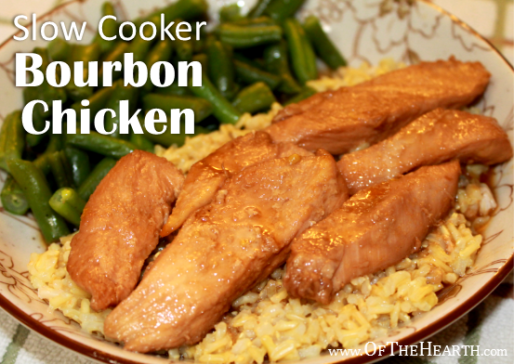 Its savory and sweet flavor, affordability, and convenience make Slow Cooker Bourbon Chicken perfect for everyday dinners and special occasions.