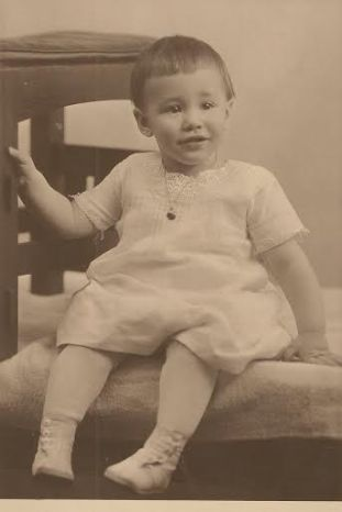 My Grandma Kay as a child