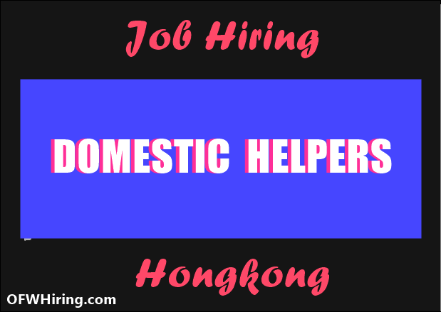 Domestic-Helper-Job-Opening-for-Hongkong