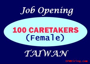 Caretaker-Job-Hiring-for-Taiwan