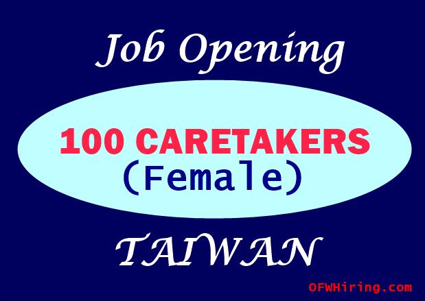 Caretaker-Job-Hiring-for-Taiwan