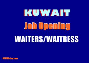Job-Hiring-of-Waiters-and-Waitress-for-Kuwait.