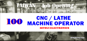 CNC-Machine-Operator-Taiwan-Job-Hiring