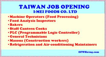 Taiwan-Job-Hiring