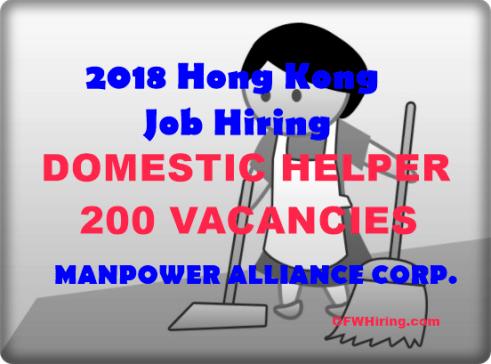 Hong-Kong-Domestic-Helper-Job-Hiring-2018