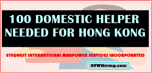 Domestic-Helper-2018-Job-Hiring-for-Hong-Kong