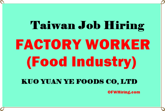 TAIWAN-JOB-HIRING-FOR-FACTORY-WORKERS