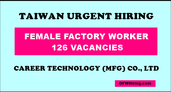 Taiwan-Factory-Worker-Job-Opening