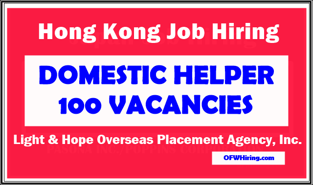 Domestic-Helper-Job-Opening-2019