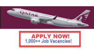 Job Hiring Qatar Airways 2016