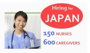 Japan hiring nurses caregivers