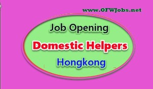 Domestic-Helper-Job-Opening-in-Hongkong